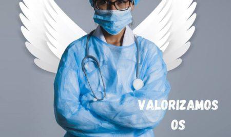 Nós valorizamos o trabalho de todos os profissionais da área da saúde!